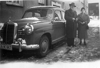 Mercedes 180 (W120 - 1953-1957) in Stolberg